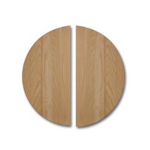 RED OAK ROUND TABLE TOP