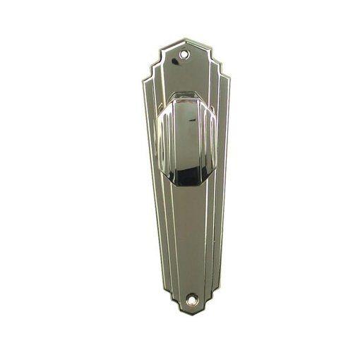 Restorers Art Deco Passage Door Set – Nickel Finish