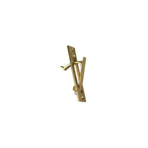 BRASS DOOR PULL-RECESSED W/RETURN SPRING