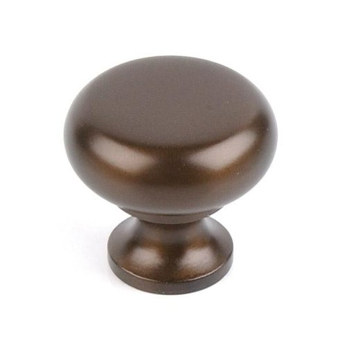 Top Knobs Flat Faced Knob 1 1/4 Inch Oil Rubbed Bronze
