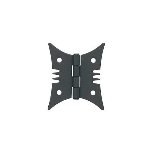 BUTTERFLY HINGE/BLK IRON