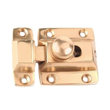 "Restorers 1 3/4"" Brass Cabinet Latch"