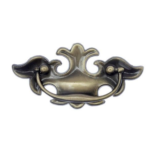 ANT BRASS CHIPPENDALE PULL SET 3