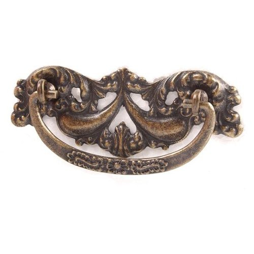 ANT BRASS DIE CAST ORNATE BACKPLATE & BAIL PULL
