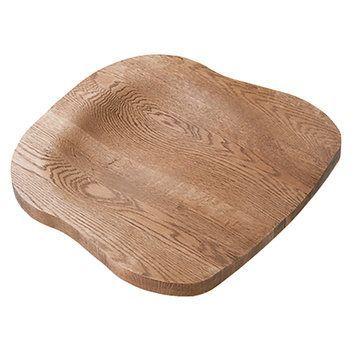 Shaped Oak Wood Chair Seat Van Dyke S Restorers 174