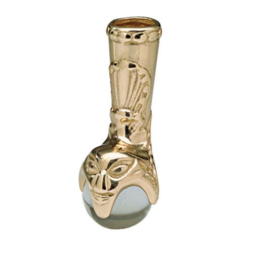 S1531 BRASS CLAW AND BALL  FOOT-MEDIUM