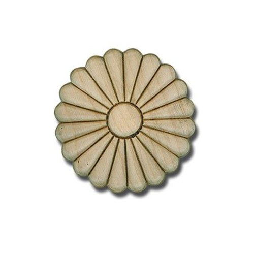 """Round Embossed Daisy Applique – 1"""" or 3 1/2"""""""