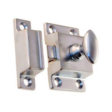 Restorers Classic 1 3/8 Inch Brass Cabinet Latch