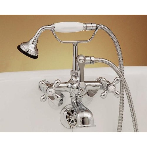 garden tub clawfoot today faucet free faucets wall mount product chrome home shipping