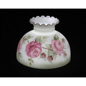 Antique Roses Lamp Shade Van Dyke S Restorers