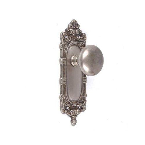 Brass Accents Victorian Dummy Door Set