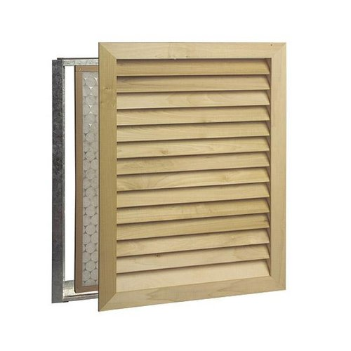 Worth Home Architectural Luxury Return Air Grille Stainable