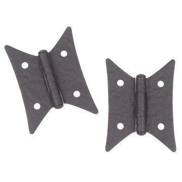 Acorn Hammered Butterfly Iron Hinge Van Dyke S Restorers