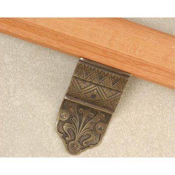 Floral Pattern Handrail Bracket