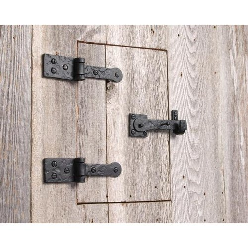 Agave Ironworks Hinge And Latch Set For Speak Easy Door