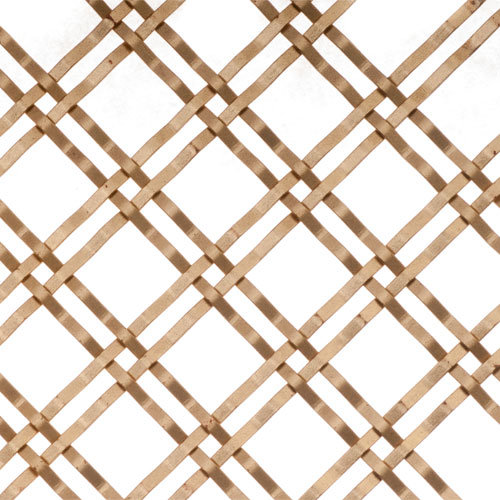 Brass Wire Grille : Kent design mj inch flat single crimp