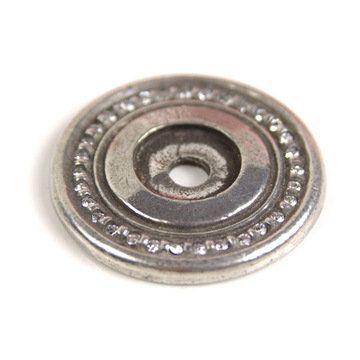 Carpe Diem Cache Round Escutcheon With Swarovski Crystals