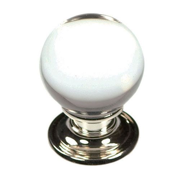 Belwith Keeler Luster Glass Ball Knob