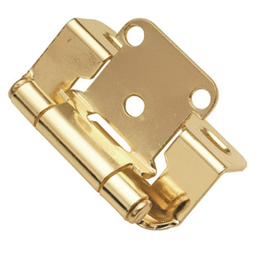 Hickory Hardware Semi Concealed Part Wrap Cabinet Hinge   Pair