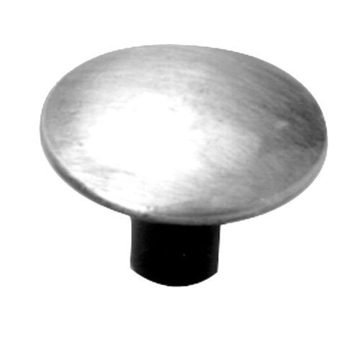 Acorn Smooth Iron Round Knob