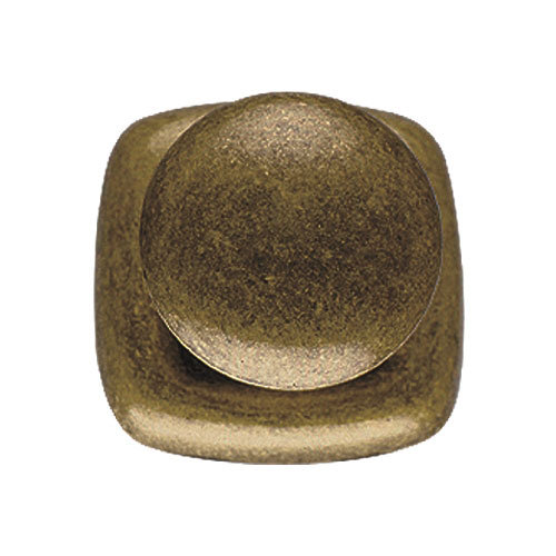Classic Hardware 1 1/2 Round Knob with Square Backplate