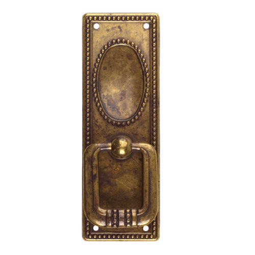 Classic Hardware Classic Series Vertical Drop Pull With Long Backplate