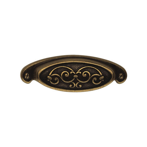 Classic Hardware Colonial Series Oval Cup Bin Pull