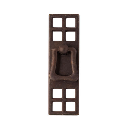 Classic Hardware Oriental Series Drop Pull With Large Backplate