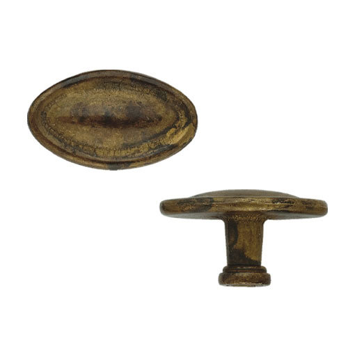 Classic Hardware Simple Oval Cabinet Knob
