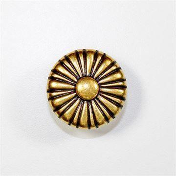 Marella Antique Round Sunburst Cabinet Knob