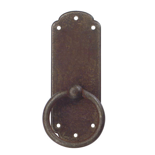 Marella Primitive Antique Ring Pull With Backplate