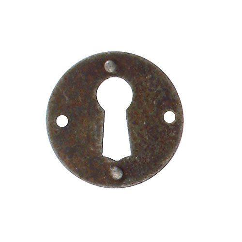 Marella Simple Round Escutcheon With Key Hole