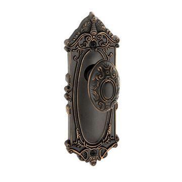 Grandeur Grande Victorian Single Dummy Interior Door Set With Grande Victorian Knob