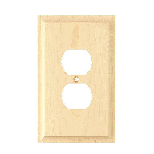 Designs Of Distinction Duplex Wood Switchplate
