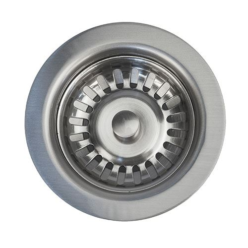 Premier Copper 3 1/2 Inch Kitchen Sink Basket Strainer Drain