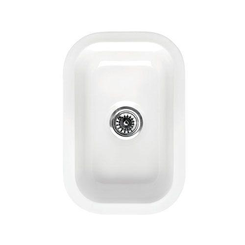 12 Inch Rectangle Drop In Or Undermount Fireclay Bar Prep Sink Van ...