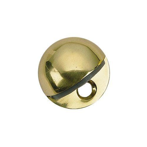 Brass Accents Floor Mount Door Stop - 1 7/16 Inch