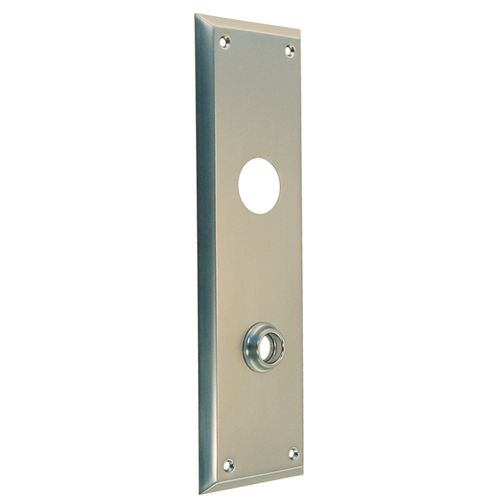 Restorers Classic 10 Inch Plain Backplate Only For Deadbolt
