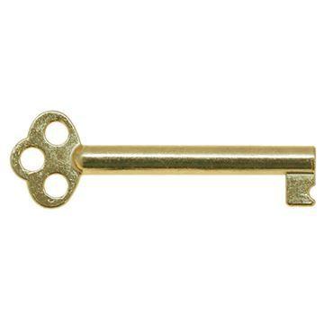 Restorers Classic 2 3/8 Inch Flat Bow Steel Drawer Key