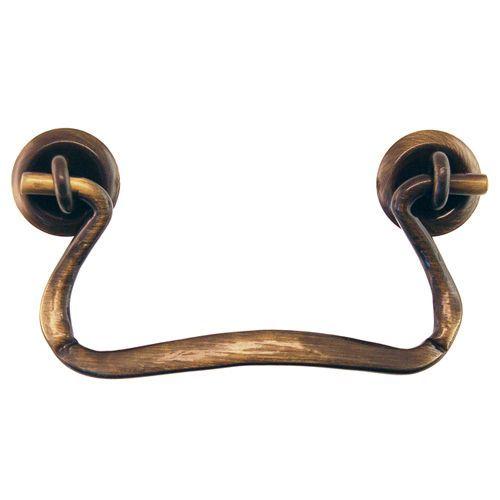Restorers Classic Antique Brass Simple Bail Pull