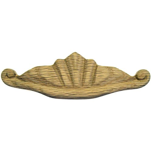 Restorers Classic Carved Shell Desk Handle