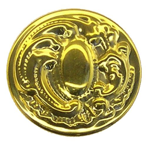 Restorers Classic Colonial Revival Stamped Brass Knob