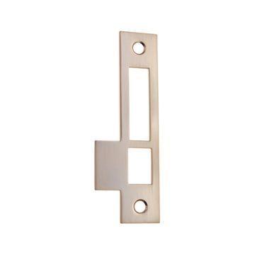 Restorers Classic Exterior Door Lock 4 3/8 Inch Strike Plate  sc 1 st  Van Dyke\u0027s Restorers & Restorers Classic Exterior Door Lock 4 3/8 Inch Strike Plate | Van ...