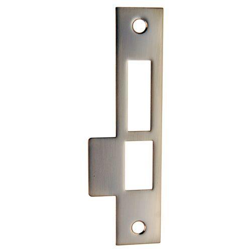 restorers classic exterior door lock 6 inch strike plate. Black Bedroom Furniture Sets. Home Design Ideas