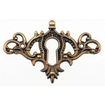 Restorers Classic Forged Keyhole Escutcheon