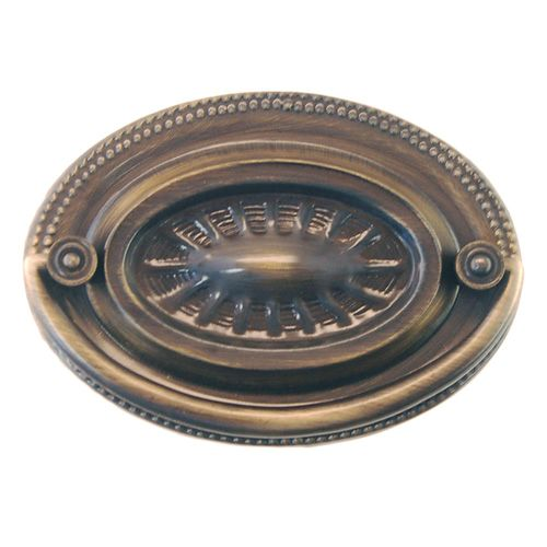 Restorers Classic Large Oval Chippendale Bail Pull