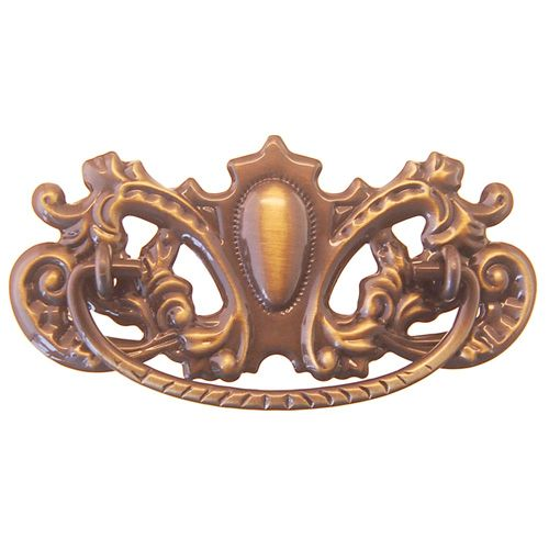 Restorers Classic Ornate Stamped Victorian Bail Pull