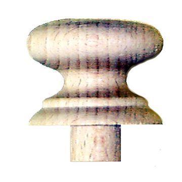Restorers Classic Shaker Round Wooden Knob