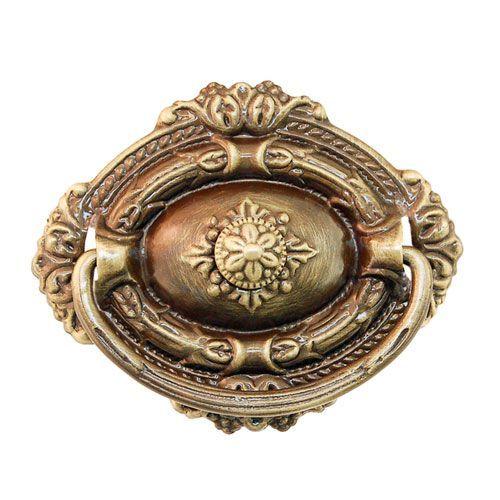 Restorers Classic Single Post Victorian Ring Pull
