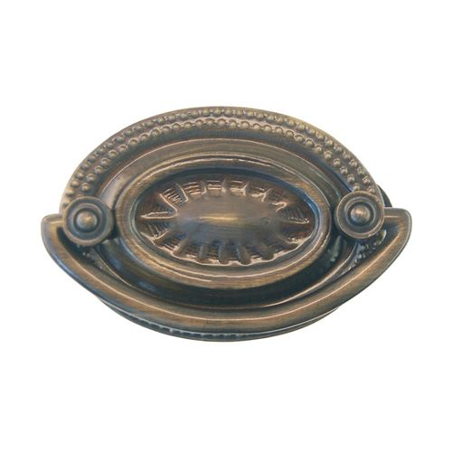 Restorers Classic Small Oval Chippendale Bail Pull